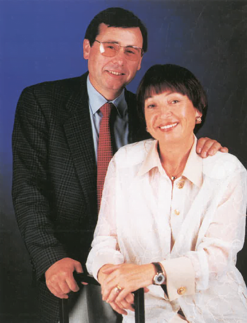 Srs. Ambrosio Alcover i Pilar Ballestero