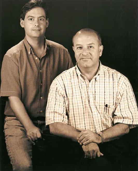 Sr. Xavier Xalabarder i Juan Antonio Gutiérrez