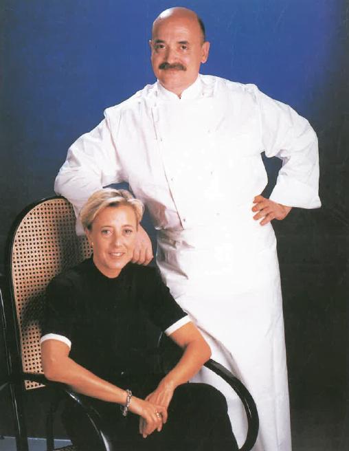 Srs. Anna Maria Figueres i Francesc Gutiérrez