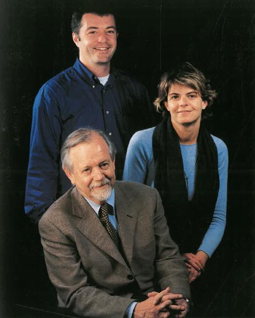 Srs. Francesc, Xavier i Ester Claramunt.