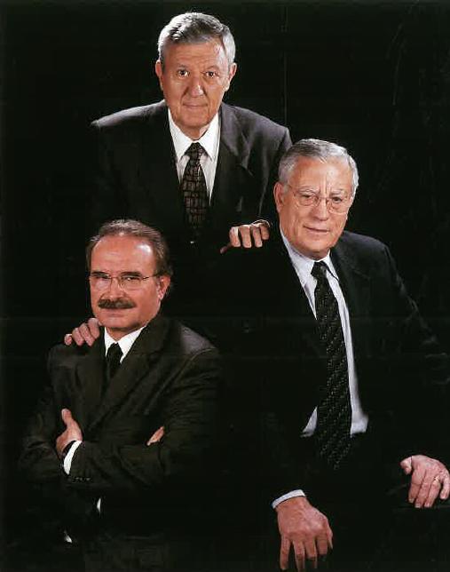 Srs. Josep N. Peiró, Joan Vendrell i Aleix Zaragosa