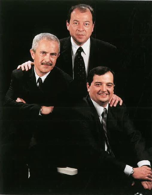 Srs. Josep Maria Bertolín, Lluís Fuster i Jordi Balsells