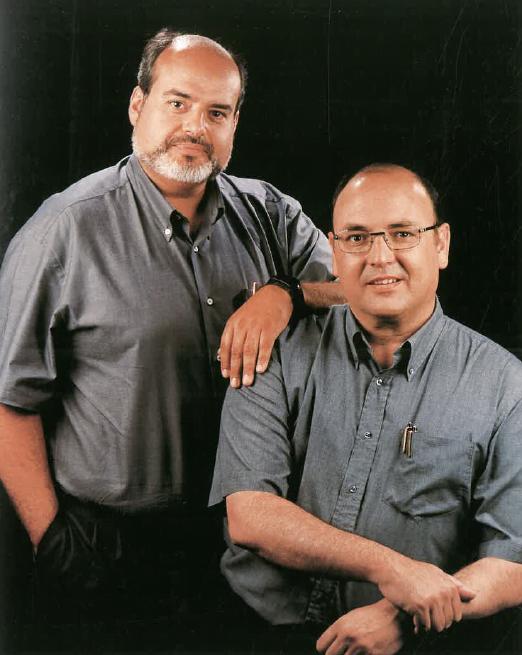 Srs. Alfonso Del Olmo Pagán i Lluís Cañadell Laspalas