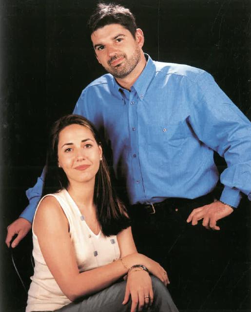 Srs. Lluís Mas Pagerols i Elisenda Martí Valls