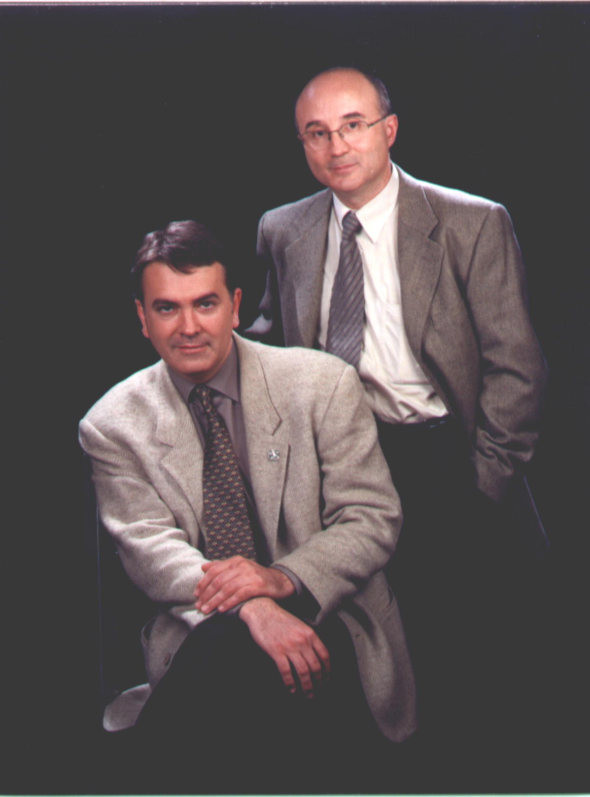 Dr. Ramon Morera i Dr. Josep M. Pepió Vilaubí
