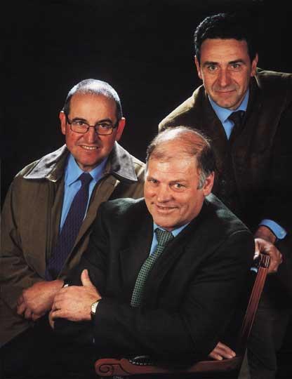 Jaume Fallada, Ramon Romeu i Josep Puxeu Rocamora