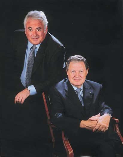 Lluís Maria Ginjaume i Pere Serrat Benedicto