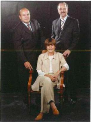 Albert Tarrats, Antoni Fuster i Roser Maluquer