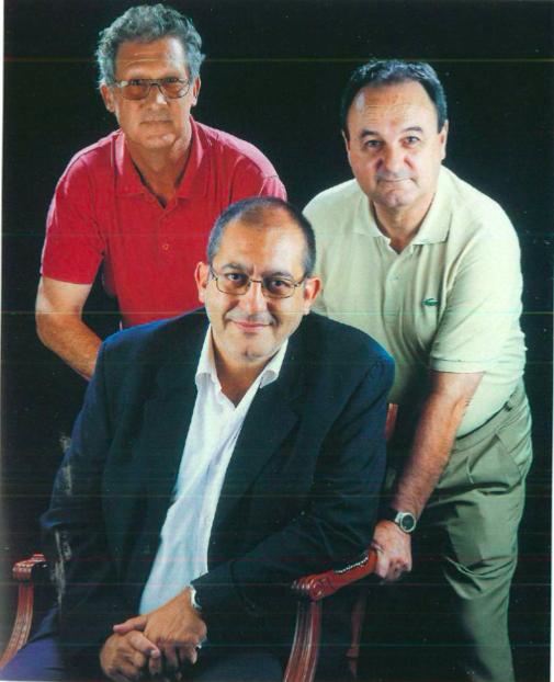 Ramon Guinjoan Barons, Jordi Martínez Planas i Joan Roma Salvó