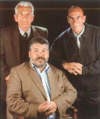 Ramon Serrador i Vivet, Juan Sanz Sánchez i Antonio Candelo Mateo